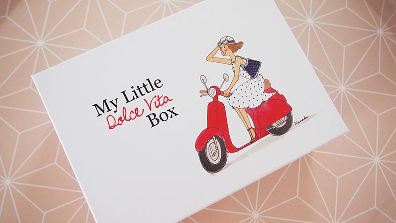 My little box de Juin : My little Dolce vita Box