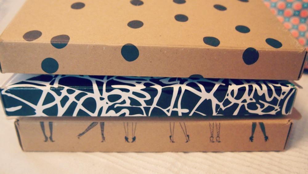 DIY rangement collants pochons my little box