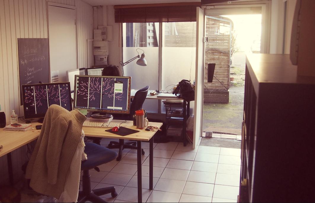 J ai testé le coworking en bureaux partagés