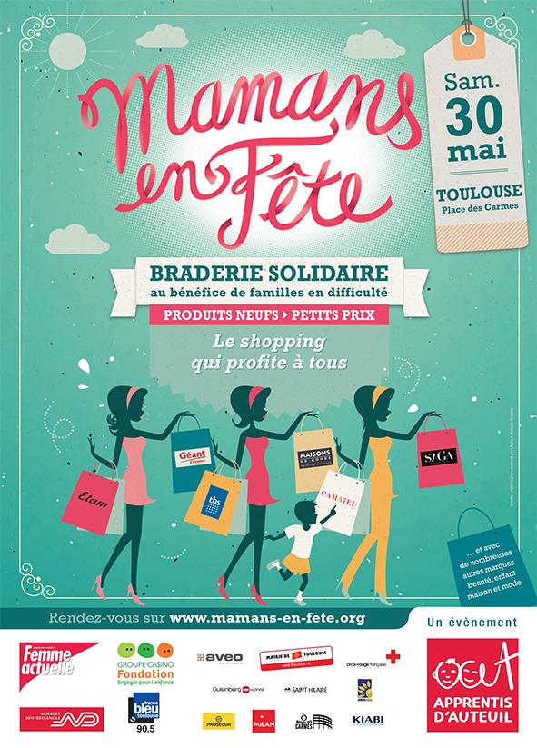 «Mamans en fête»: l'événement malin et solidaire à Toulouse le 30 Mai
