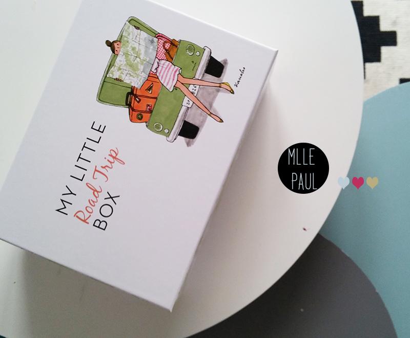 My little box juillet 2015 : My little Travel Box