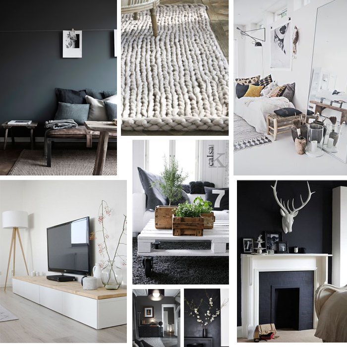 Inspiration d co pour la future maison - Inspiration deco salon ...