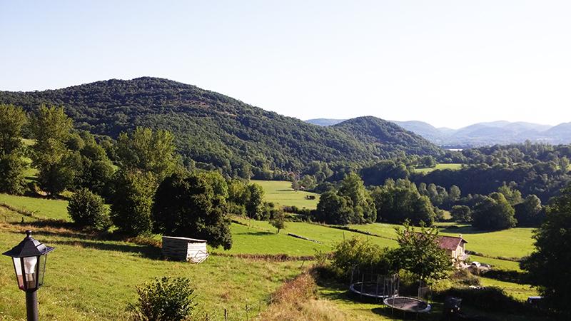 Une yourte dans les Pyrénées