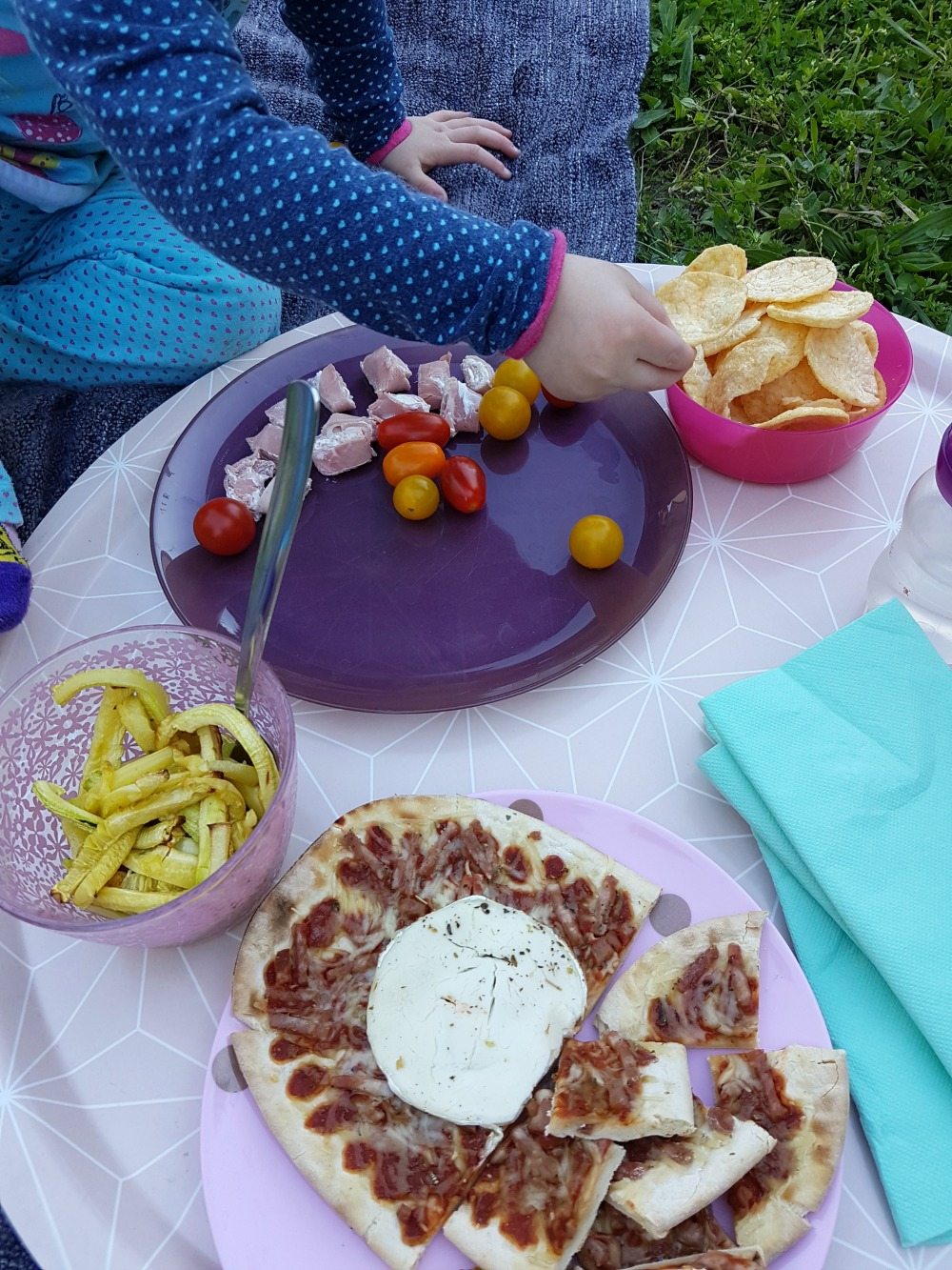 Recette pour un pique-nique au jardin