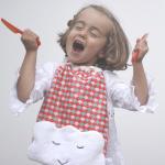 Un bavoir nuage Little Menina
